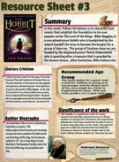 Resource Sheet # 3: THE HOBBIT's thumbnail