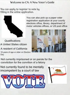 Welcome to CA: A New Voter Information Guide