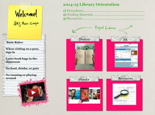 2014-15 library orientation