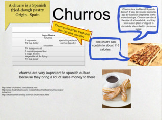 churros spanish food project joe schlindwein