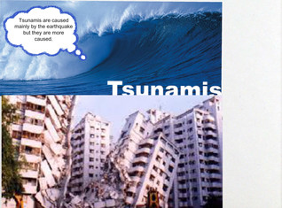 Tsunamis caused