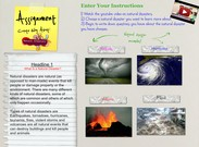 Assignment Natural Disasters's thumbnail