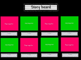 Story board template