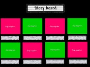Story board template's thumbnail