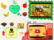 Healthy and unhealthy food's thumbnail
