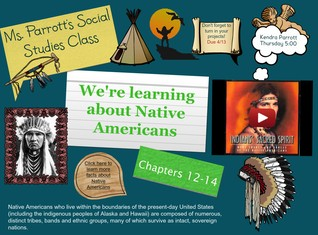 Ms. Parrott's Social Studies-Native Americans
