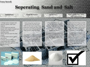 Seperating Sand and Salt