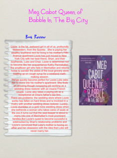 Meg Cabot Queen Of Babble In The Big City Book Review