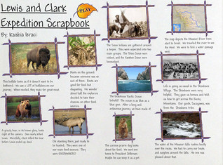 Lewis and Clark Expedition Scrapbook