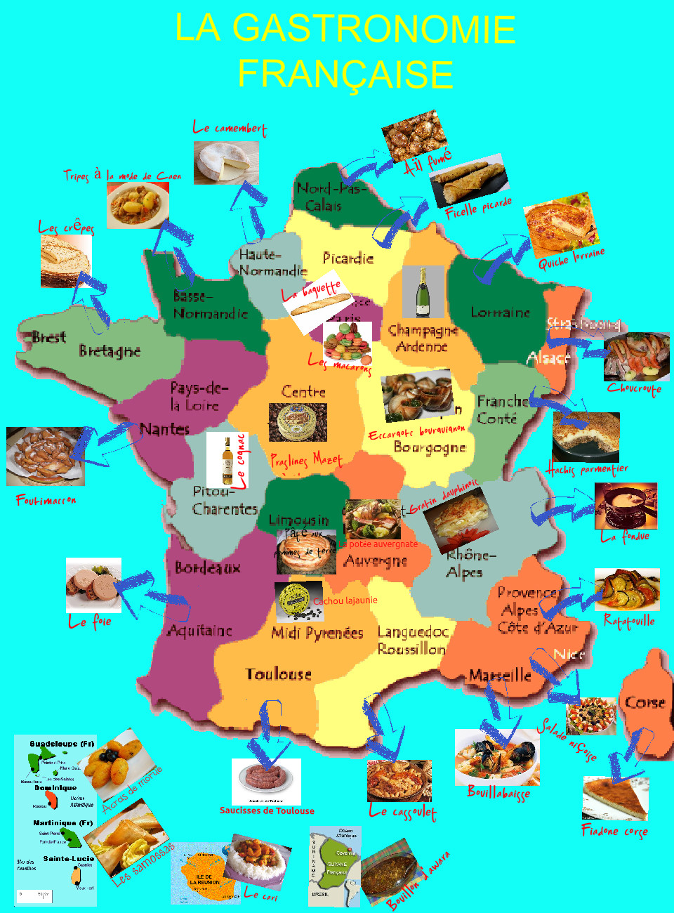La cuisine en france lessons tes teach for Cuisine francaise