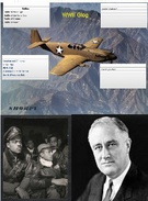 WWII Glog with Plane, FDR, and Soldiers Background's thumbnail