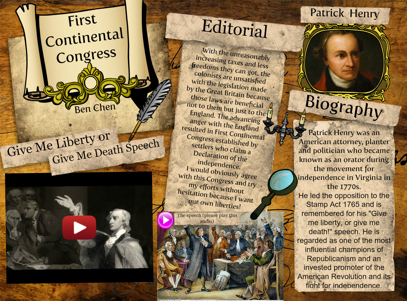 [2015] Xiaobang Chen: First continental congress