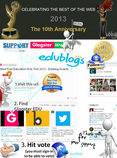 'Vote for the best web tool - GlogsterEDU!' thumbnail