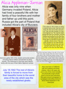 Alicia Appleman-Jurman holocaust survivor project's thumbnail