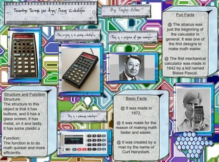 Technology Through the ages: Pocket Calculator