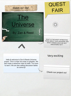 the universe flyer