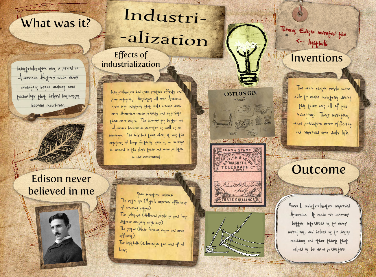 positive impacts of industrialization