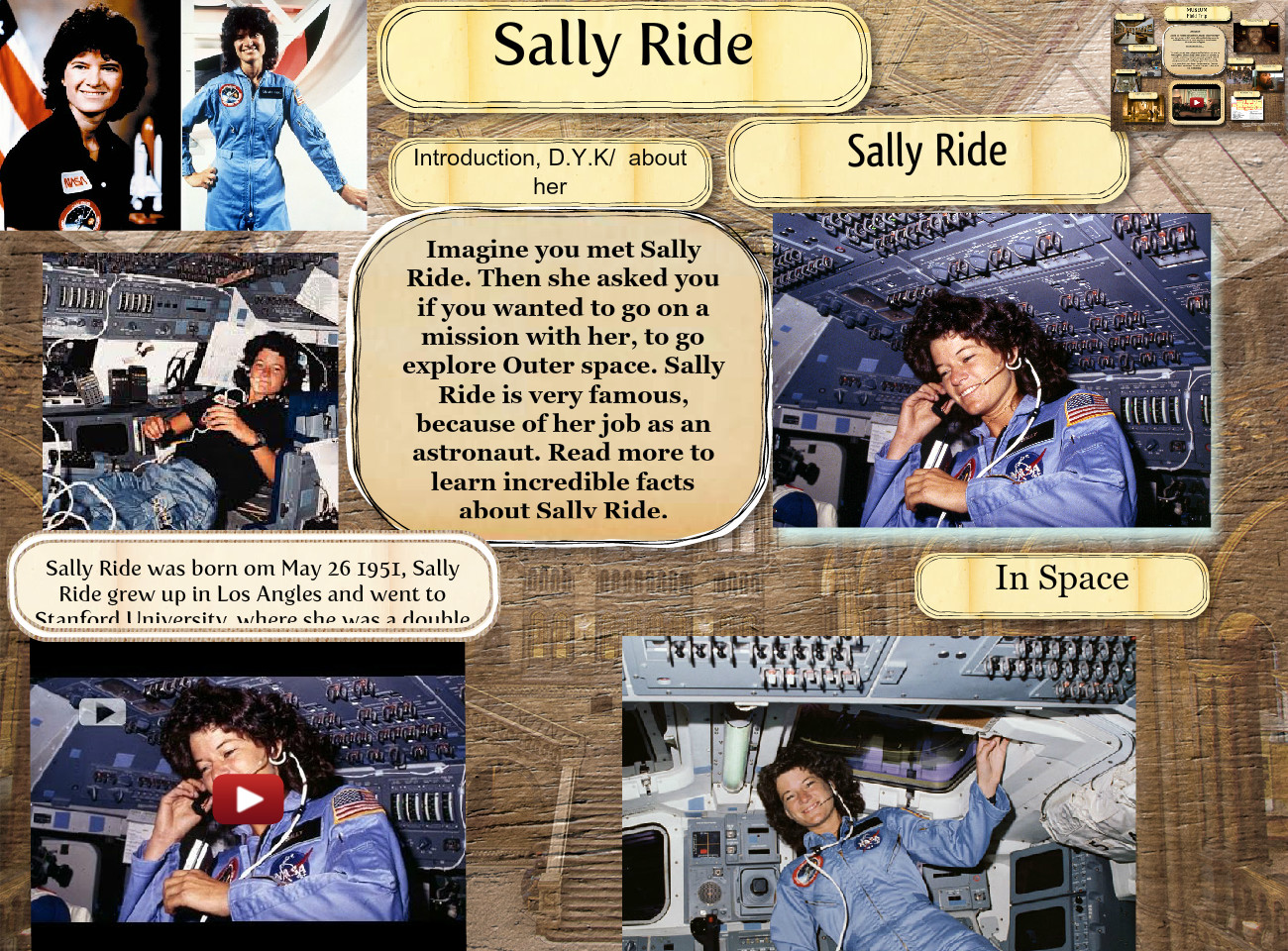 [2015] giselle iniguez: Sally Ride