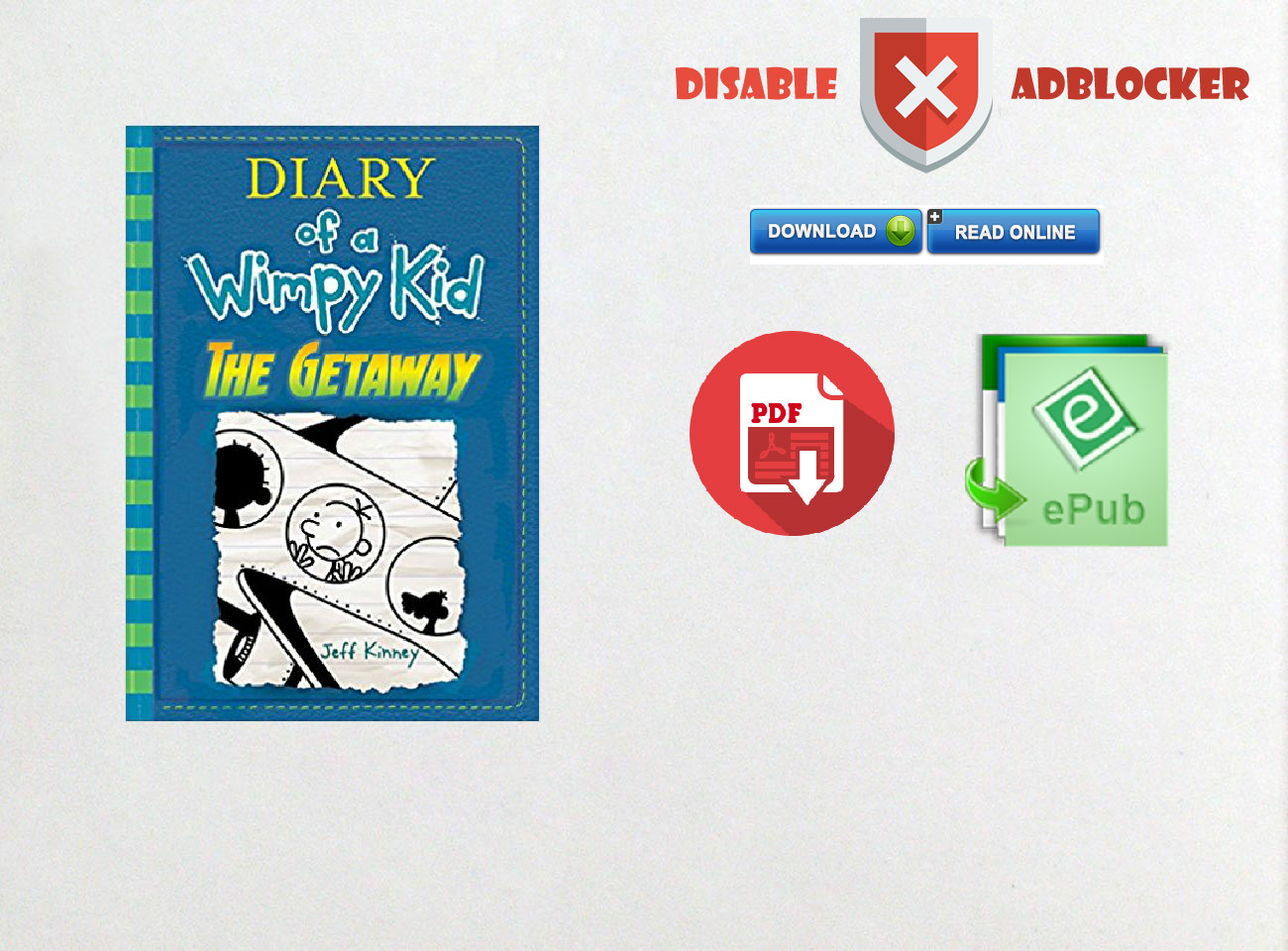 Diary Of A Wimpy Kid The Getaway Pdf Download