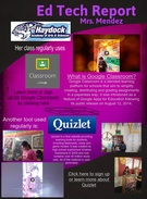 Ed Tech Report: Mrs. Mendez's thumbnail