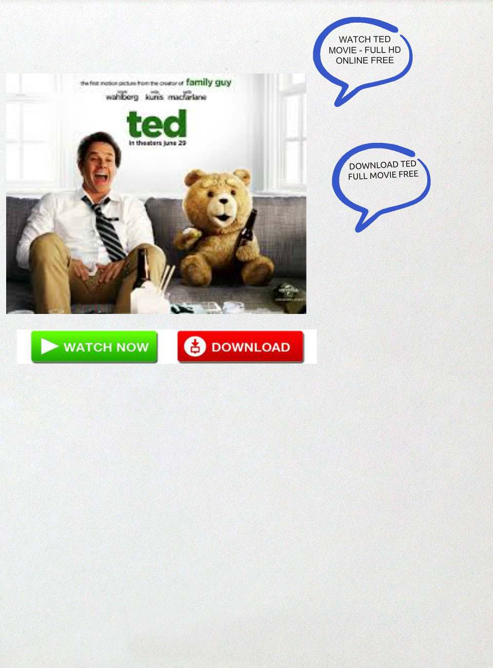 watch ted online free download ted movie: download ted movie, ted