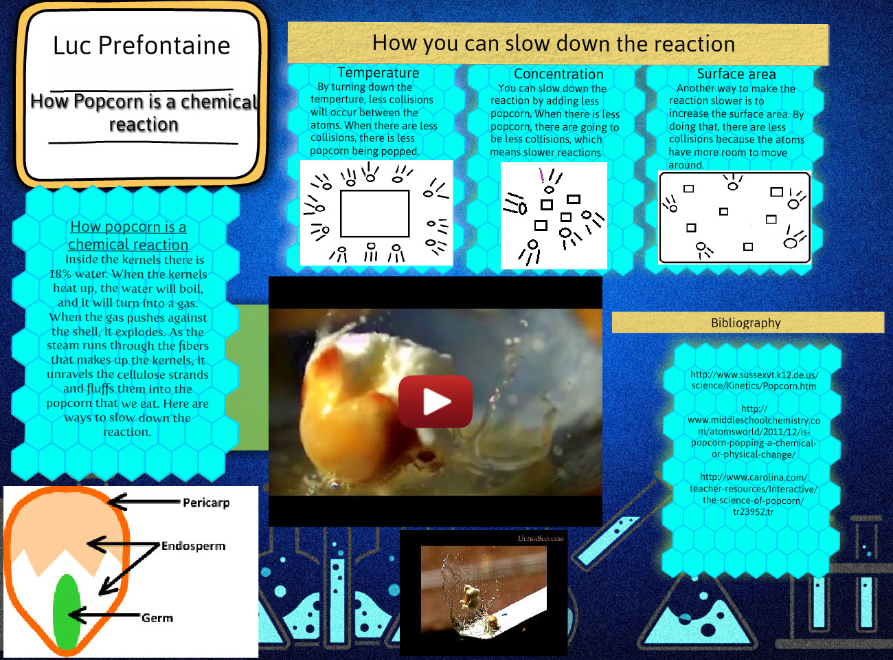 How popcorn is a chemical reaction