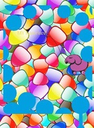 glogster candy background's thumbnail