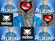 Delirious and Vannos and cartoonz's thumbnail
