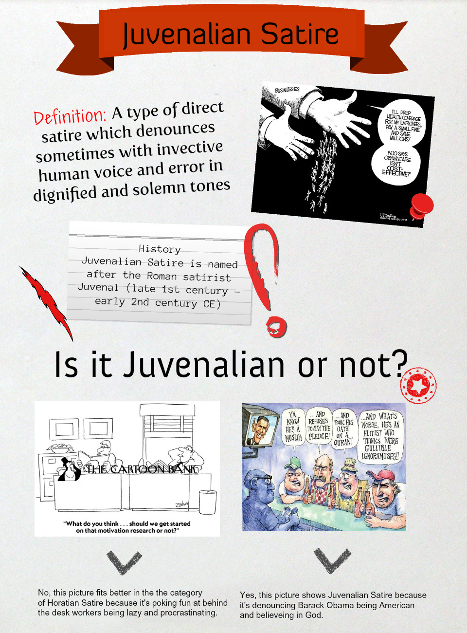 what is the difference between horatian and juvenalian satire