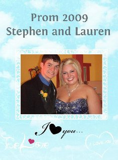 stephen and lauren prom