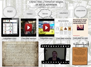 Using the 5 types of media in my classroom