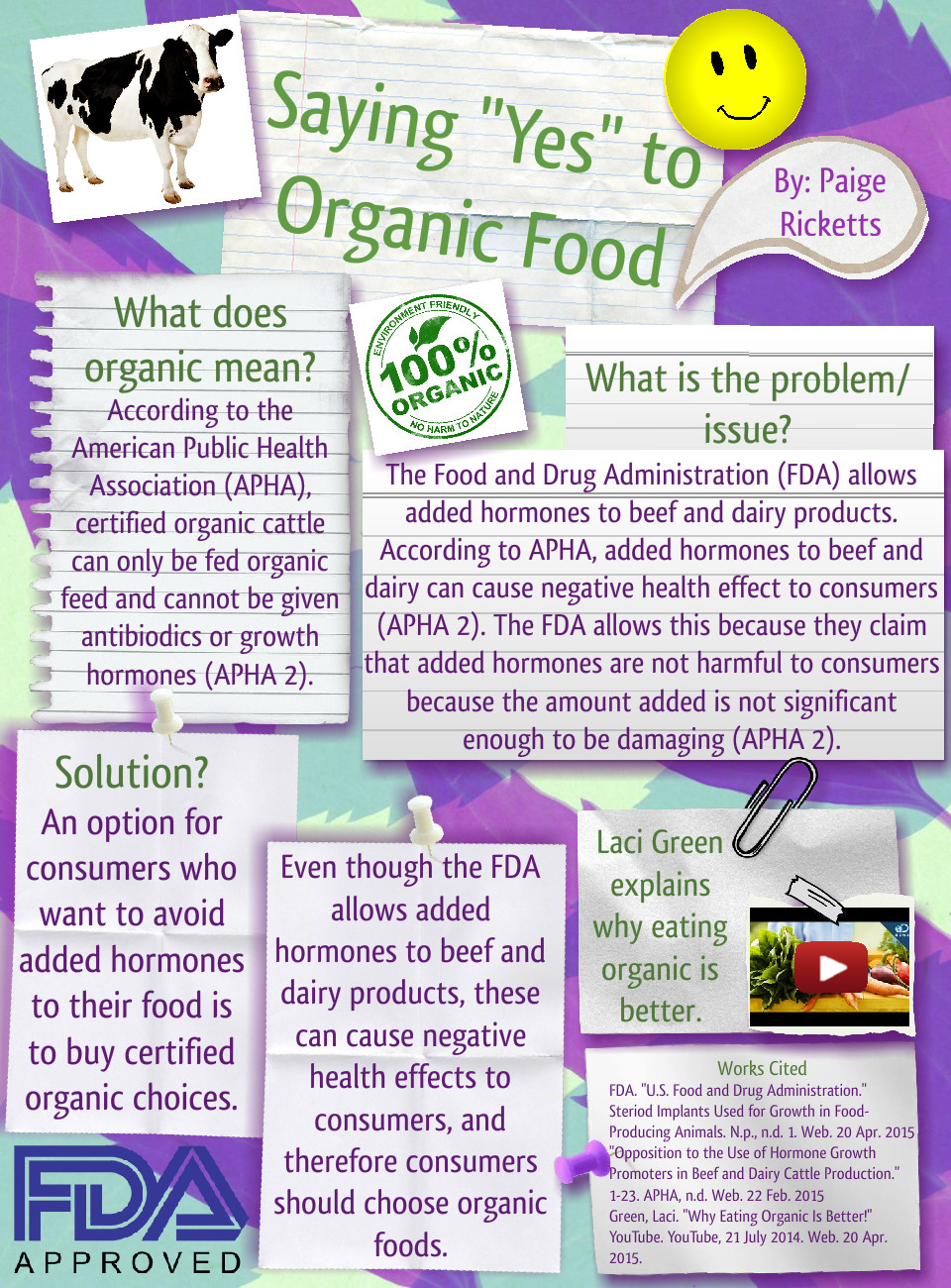 Saying Yes to Organic Food