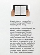 Buy Jesus Calling: Enjoying Peace in His Presenceby Sarah Young pdf epub txt mobi's thumbnail