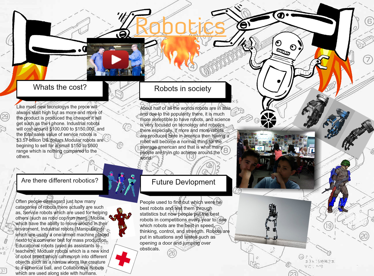 [2015] Emilio p (6th Earth Science 2015): Robotics