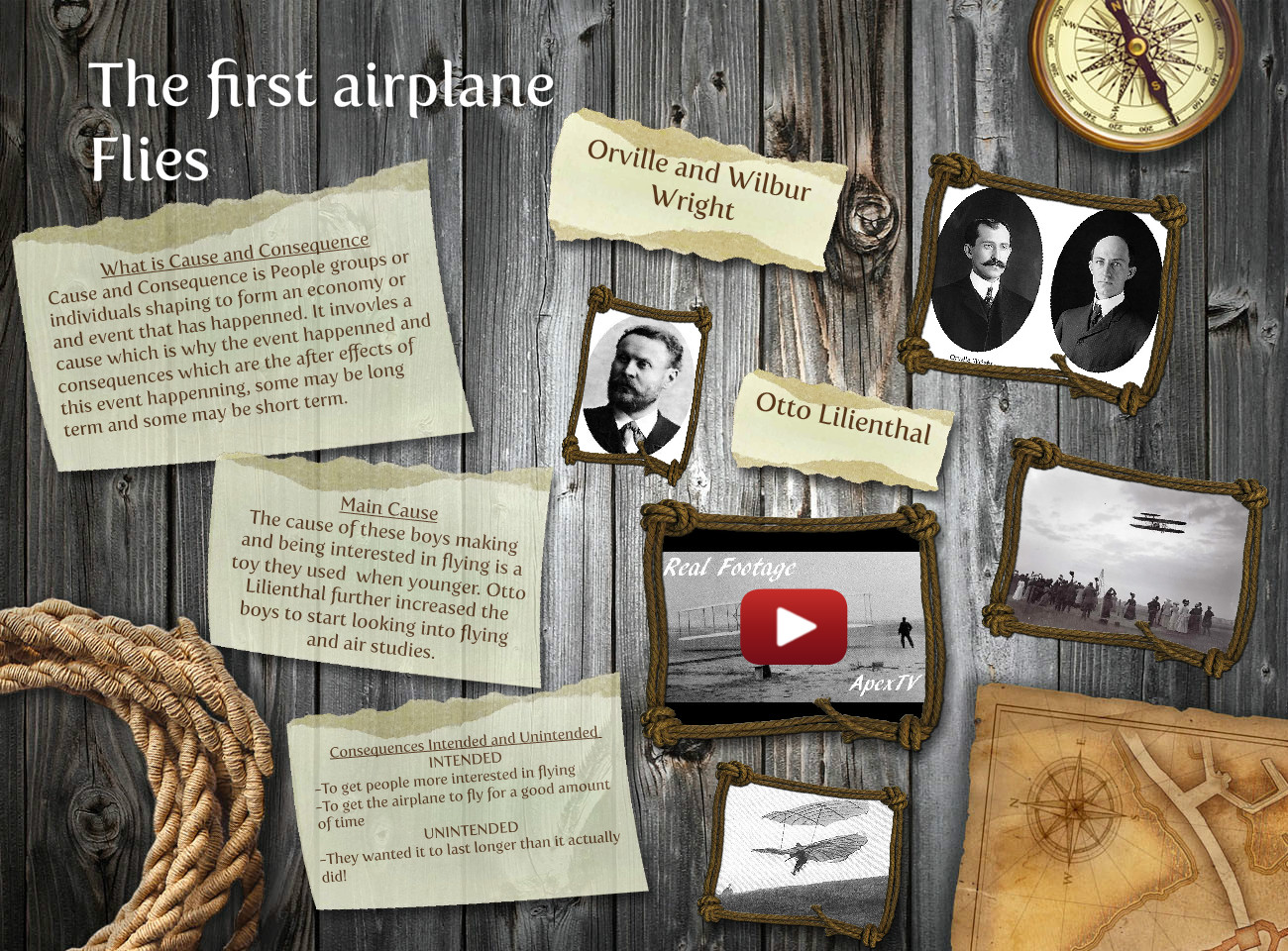 The First Airplane Flies