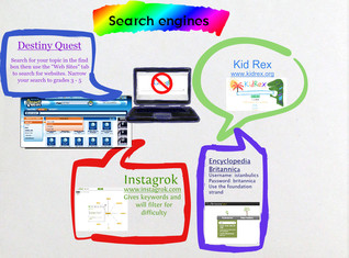 Search engines for grade 4