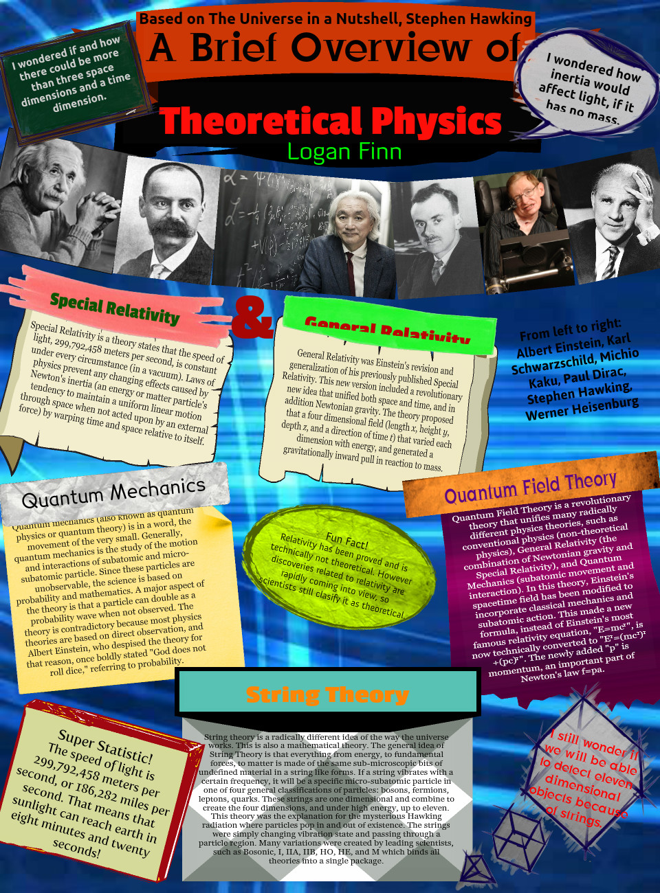 A Brief History of Theoretical Physics