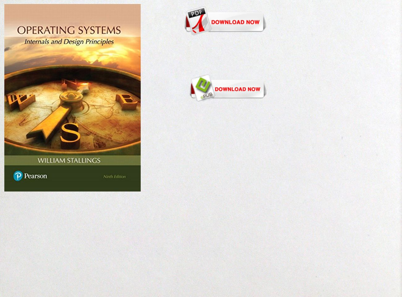 Operating System William Stallings 8th Edition Pdf Free Download