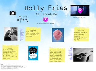 All About me- Holly Fries