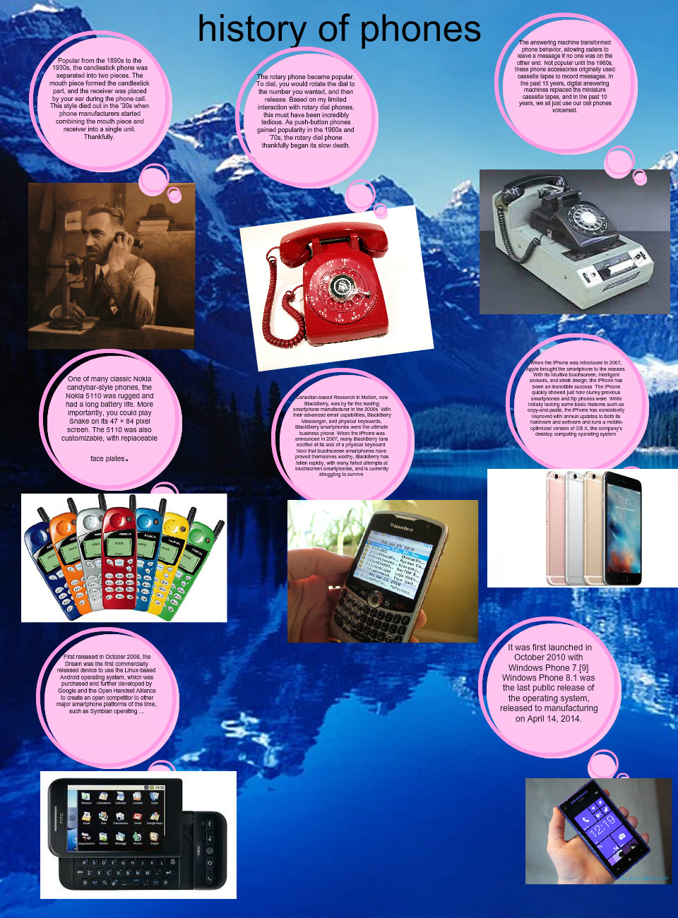 [2016] Guy Flores: History of phones