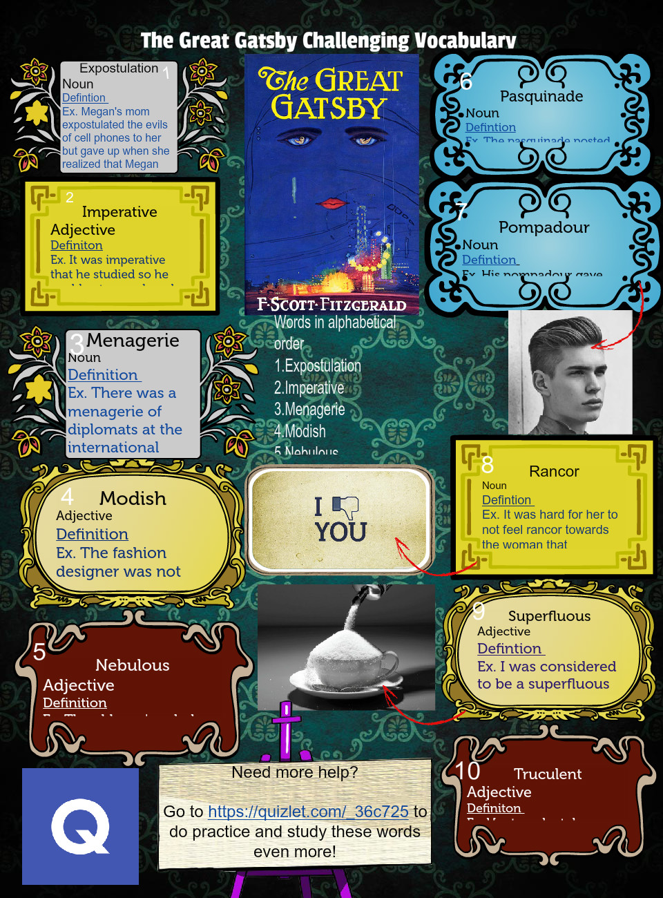 The Great Gatsby Vocabulary