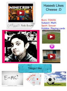 Haseeb's Glogster