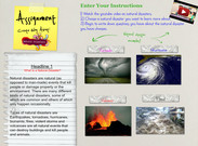 Natural Disasters Assignment, 3rd Grade's thumbnail
