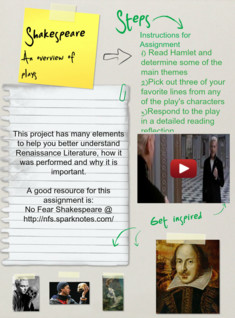 Shakespeares plays (Assignment), Literature