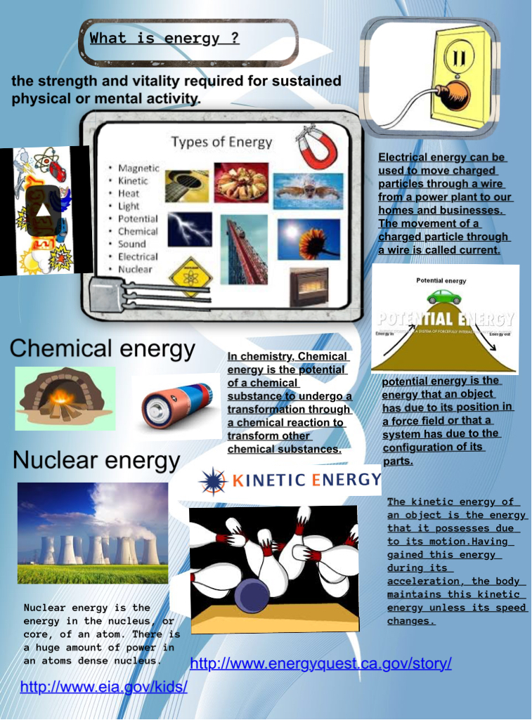Energy: chemical, energy, eng, kinetic, nuclear, physics | Glogster ...