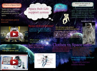 [2015] Maidah Khan: Space Suits-Life Support System